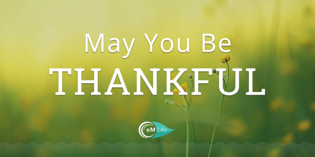 May you be thankful | emindful.com