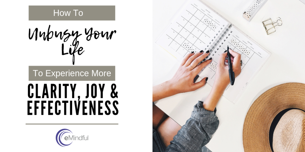 feel more joy and clarity | emindful.com