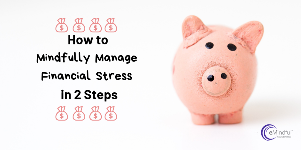 how to manage financial stress mindfulness | emindful.com
